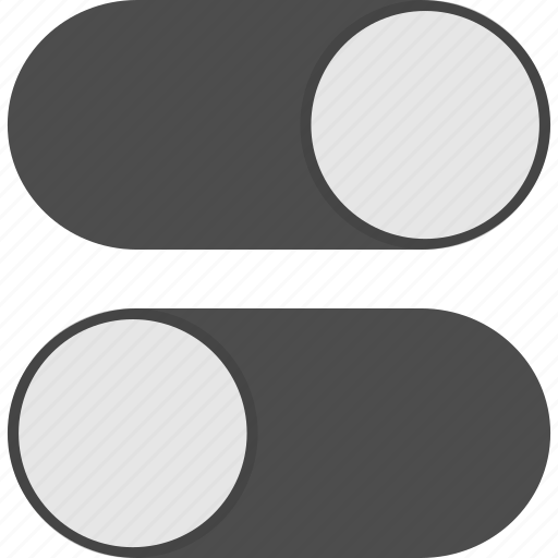 preferences, settings, slider, toggle icon