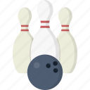 pins, ball, bowling, pin, bowling pins, game, bowling ball