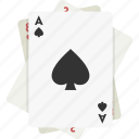 cards, playing, ace, spades, playing cards, ace of spades