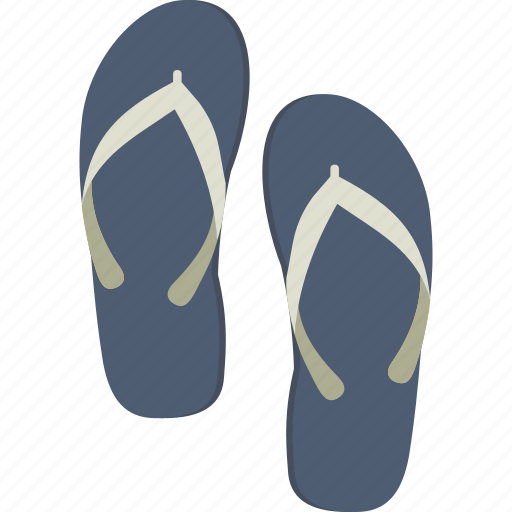 Flip, flops, sandals, flip flops, thongs icon - Download on Iconfinder