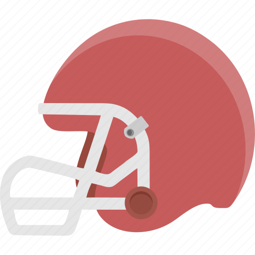 football, helmet, protection, safety icon
