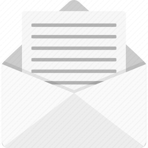 email, letter, mail, message, received icon