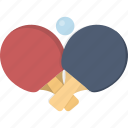 ball, paddle, paddles, ping, ping pong, pong icon
