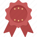 ribbon, stars, achievement, red ribbon, winner, prize, award