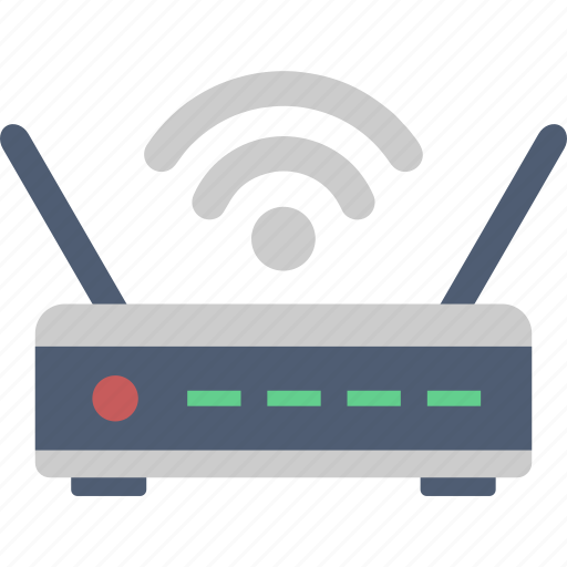 Connection, router, wifi, network, signal, wireless icon - Download on Iconfinder