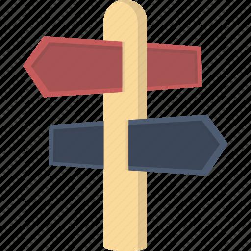 Direction, post, sign, signpost, navigation icon - Download on Iconfinder