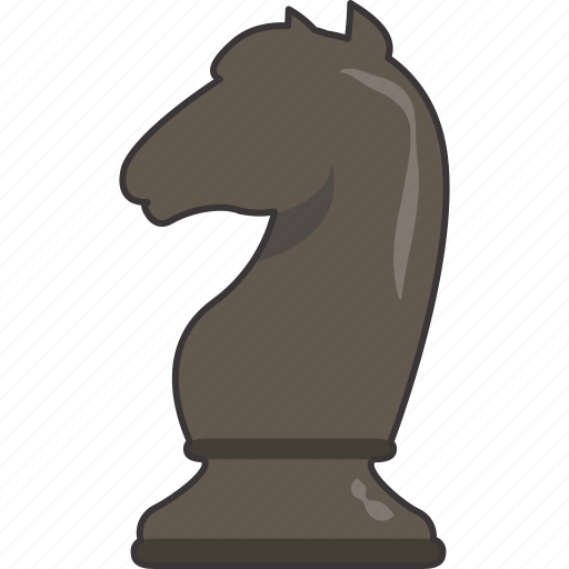 Chess, horse, knight, piece icon - Download on Iconfinder