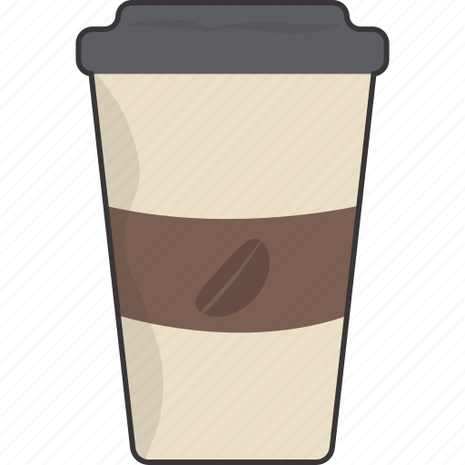 coffee, cup, drink, takeout icon