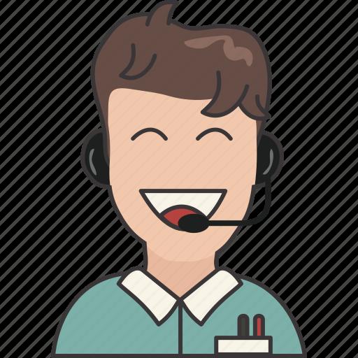 customer, service, user icon