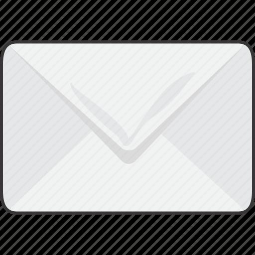 envelope, letter, mail icon