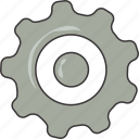 gear, settings icon