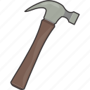 fix, hammer, tool icon