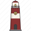 house, light, lighthouse icon