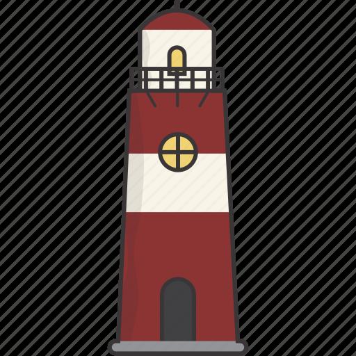 house, light, lighthouse icon
