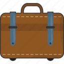 baggage, luggage, suitcase, travel icon