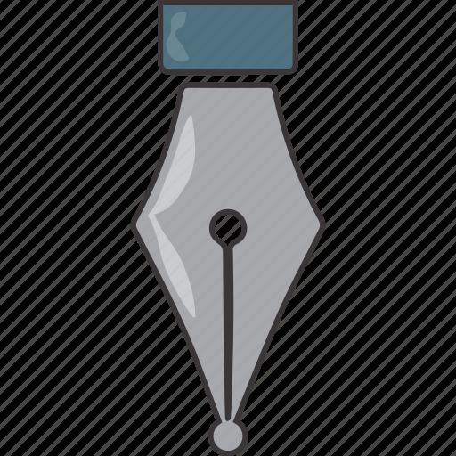 edit, nib, pen, write icon