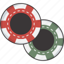 chips, poker icon