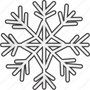 flake, snow, snowflake icon