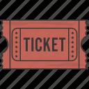 event, movie, ticket