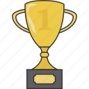 award, trophy, winner