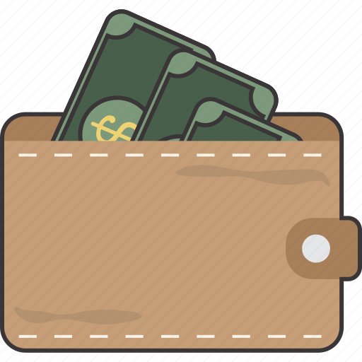 cash, currency, payment, wallet icon