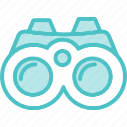 binoculars, view icon