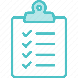 clipboard, list, to do icon