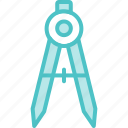 compass, tool icon