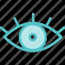 eye, show, view