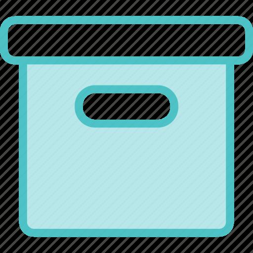 archive, box, file, storage icon