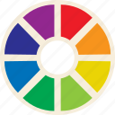 color, color wheel, wheel icon