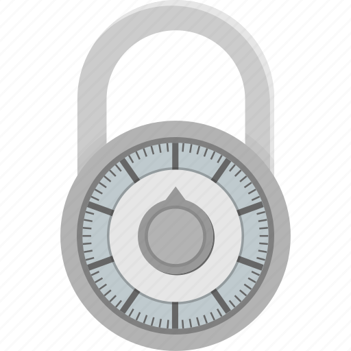 Combination, lock, combination lock, combo lock, protection, security icon - Download on Iconfinder