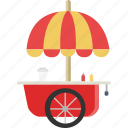 cart, food icon