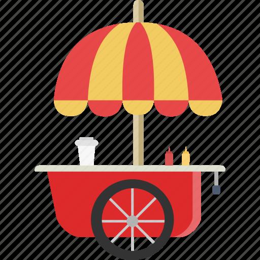 cart, food, food cart icon