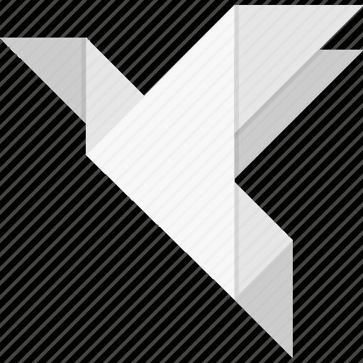Bird, origami icon - Download on Iconfinder on Iconfinder
