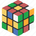 cube, rubiks icon