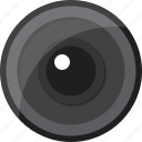 camera, lens, view icon
