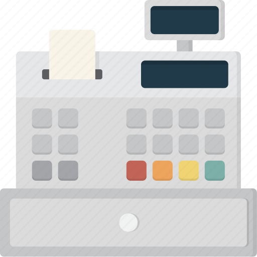 Register, cash, till, checkout, payment icon