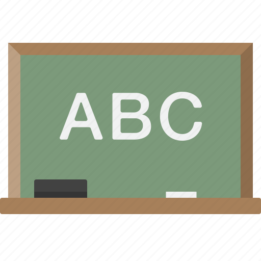 chalkboard, classroom, education, school icon