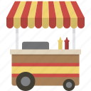 cart, food, food cart icon
