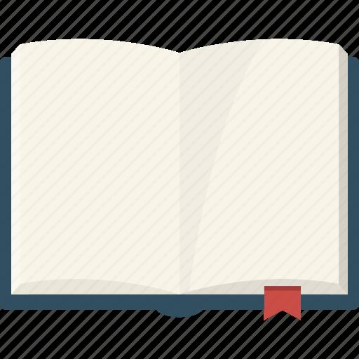 book, open, read icon