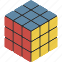 cube, puzzle, rubiks icon