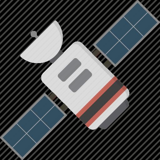 satellite, technology icon