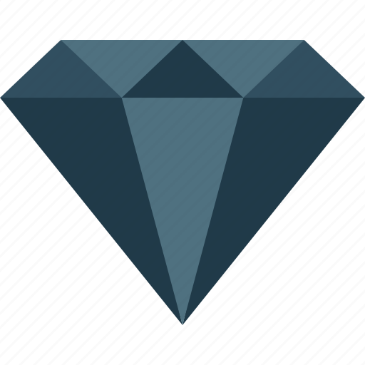 blue, diamond, gem, gemstone, jewel, sapphire icon