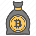 bill, cash, crytocurrency, ethereum, money icon