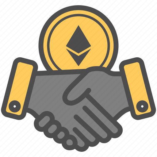 agreement, contract, crytocurrency, deal, ethereum icon