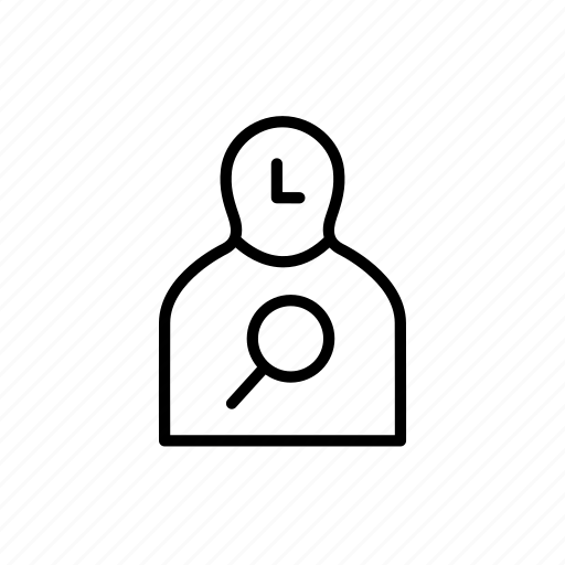 find, person, research, researcher, search, study icon