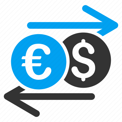 Bank Currency Exchange Finance Financial International Money Change Payment Icon