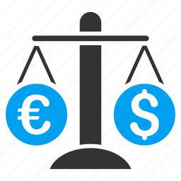 compare, currency balance, measure, measurement, money trade, scale, weight icon