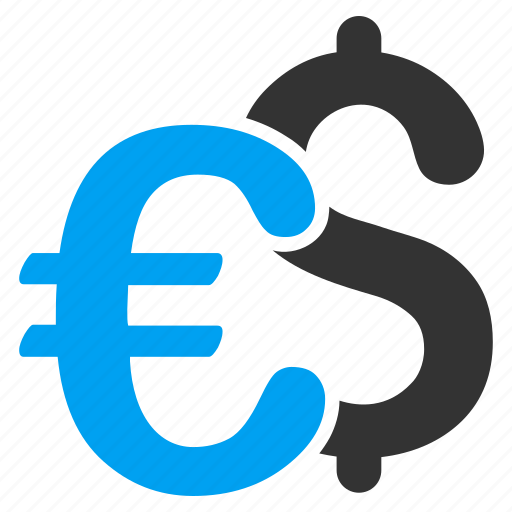 banking, business, currency symbols, dollar, euro, finance, money icon